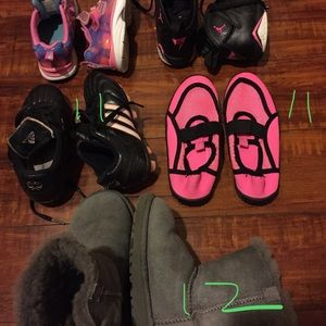 Other - Five toddler shoes